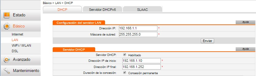 router Huawei HG532s paso 4